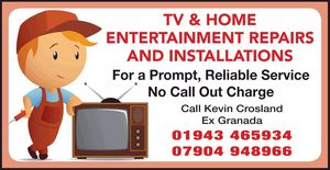 Kevin Crosland Tv Repair / Digital Installation Services