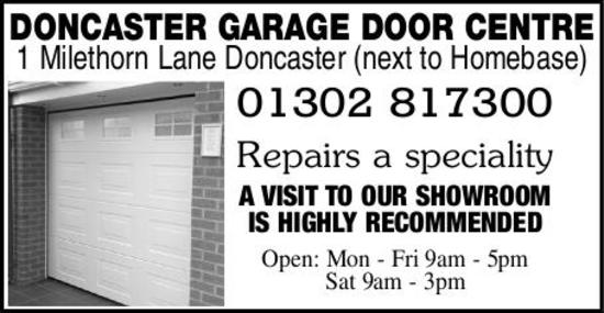 Doncaster garage door centre doors shutters sales and for Door 2 door doncaster