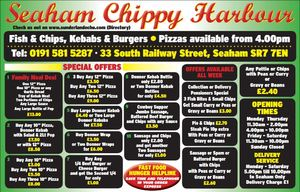 Seaham Chippy Harbour