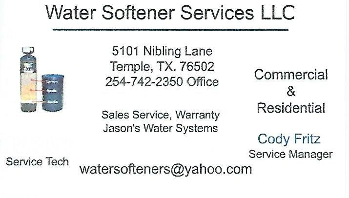 Water Softeners Services Llc