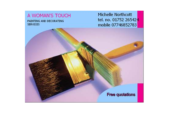 Main photo for A Woman's Touch